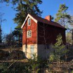 Röda stugan – ett litet mysterium