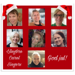 Julmys med Långbro Carol Singers